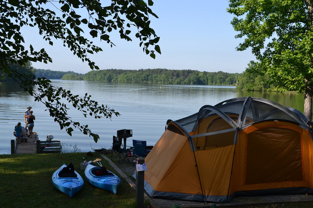 Campsite info page